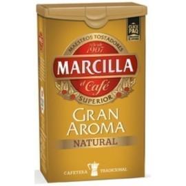 CAFE MOLIDO MARCILLA NATURAL CON CIERRE CLICKPAQ PAQUETE DE 250 G