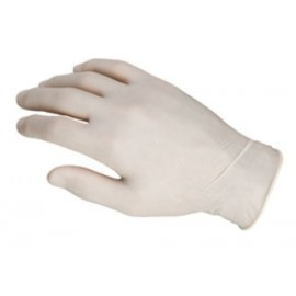 GUANTE LATEX ULTRASENSIBLE TALLA MEDIANA CAJA de 100
