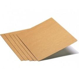 Subcarpetas Caja 50 ud A4 Cartulina Kraft bicolor 250 G 600644