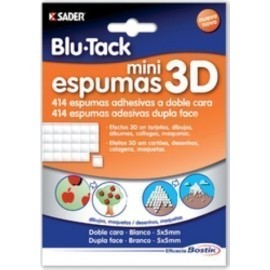 ADHESIVO BLU TACK MINI ESPUMAS 3D
