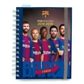 AGENDA ESCOLAR 2018 ERIK WIRE O 15 5x19 S V FC BARCELONA