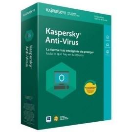 ANTIVIRUS KASPERSKY 2019 1 PC