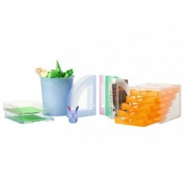 5* Papelera Poliestireno 14 L Naranja 2002NATL 5*