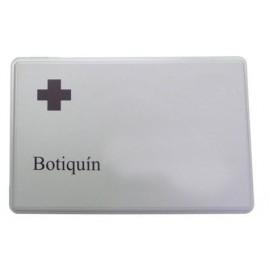 BOTIQUIN SINEX PORTABLE PLASTICO GRIS
