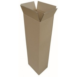 CAJA DE EMBALAR ANONIMA VERTICAL 350x250x1120 3 mm MARRON