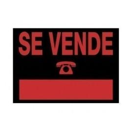 CARTEL ANUNCIO PVC 35x25 SE VENDE