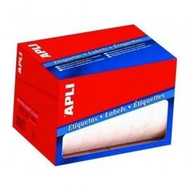 APLI Etiquetas en rollo 1500 ud 20x50 mm Blancas 1686