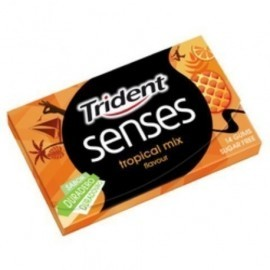 CHICLE TRIDENT SENSES TROPIC MIX 27 GR 216unds
