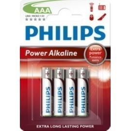 PILAS PHILIPS LR03 SUPER ALCALINA BLISTER DE 4