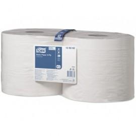 TORK Bobina papel industrial Pack 2 ud 340 m 1000 servicios 2 capas Para W1 129262