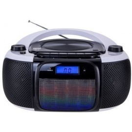 RADIO CD DAEWOO MP3 DBU 61 USB SD BLUETOOTH CON LUCES LED 2x1 5W