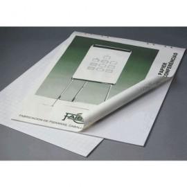 FAIBO Bloc Pizarra Papel 90x65 cm para pizarras de caballete BLC-50B