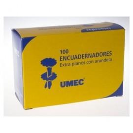UMEC Encuadernadores con Arandela Caja 100 Ud 25 mm U301101