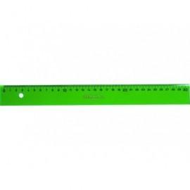 FABER CASTELL Regla 40 cm Graduada verde 814