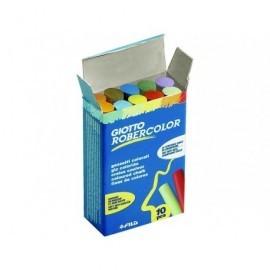 ROBERCOLOR Tizas Caja 10 ud Colores surtidos Antipolvo 538900