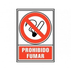 ARCHIVO 2000 Señalización Prohibido fumar A4 PVC Serigrafiado 6174-02