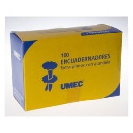 UMEC Encuadernadores con Arandela Caja 100 Ud 30 mm U301201