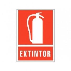ARCHIVO 2000 Señalizacion Extintor 210x297mm Rojo Serigrafiada PVC 6171-02RJ