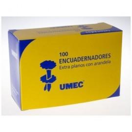UMEC Encuadernadores con Arandela Caja 100 Ud 40 mm U301301