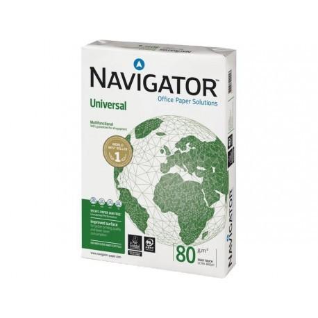 NAVIGATOR Universal. Papel multifuncion 500h 80 g. A4 0472UN