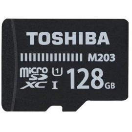 TARJETA MEMORIA SECURE DIGITAL MICRO 128GB TOSHIBA M203 CLASS 10 SDXC UHS I Incluye Canon LPI de 0 24