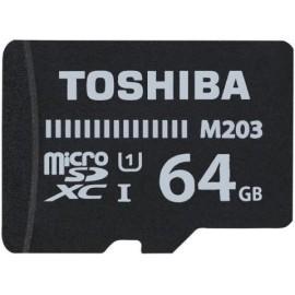 TARJETA MEMORIA SECURE DIGITAL MICRO 64GB TOSHIBA M203 CLASS 10 SDXC UHS I Incluye Canon LPI de 0 24