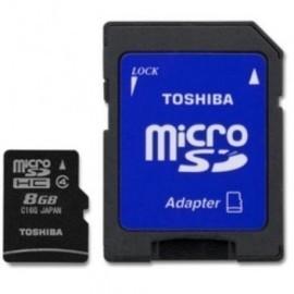 TARJETA MEMORIA SECURE DIGITAL MICRO 8GB TOSHIBA Incluye Canon LPI de 0 24