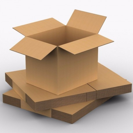 Pack de 10 Cajas de Cartón 500 x 400 x 400 mm en Canal SIMPLE Alta Calidad Reforzado