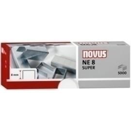 Grapas Novus Para Electrica Ne 8 Galvanizadas Caja De 5000