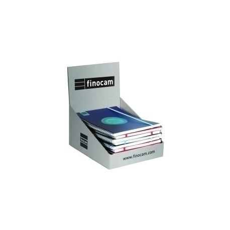 Agenda Escolar (2020) Finocam Label Espiral Tapa Pp S/V E3 79x127 Con Goma Surtido Expositor De 10