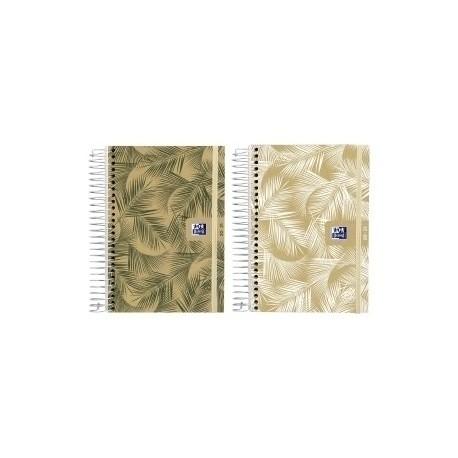 Agenda Escolar (2020) Oxford Nature Espiral Tapa Extradura Con Goma 8º S/V Surtido (2 Mod.)