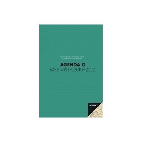 Agenda Professor Additio G M/V 195x285 16 Mesos Verd