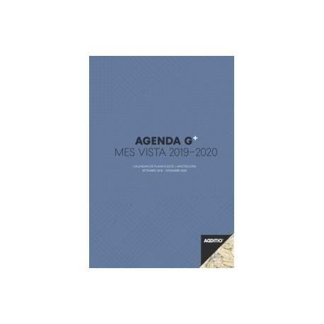 Agenda Professor Additio G Plus M/V 195x285 16 Mesos + Anotacions Blau