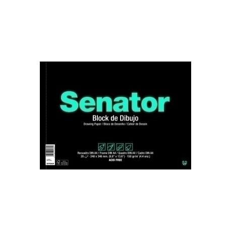 Bloc De Dibujo Senator Fº Prol. 20h Recuadro