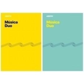 Bloc De Musica Additio Duo 8 Pentagramas A4 Con Cuadricula Inferior Para Anotaciones