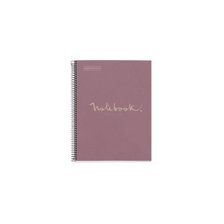 Bloc Miquelrius Emotions Notebook 1 Micro.Tapa Dura A4 80h 90g Cuadric.5x5 Ecolavanda