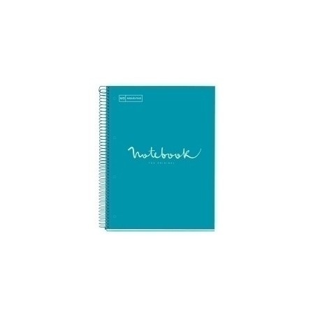 Bloc Miquelrius Emotions Notebook 1 Micro.Tapa Dura A4 80h 90g Cuadric.5x5 Formentera