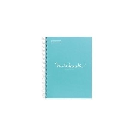 Bloc Miquelrius Emotions Notebook 1 Micro.Tapa Dura A4 80h 90g Dots Punteado Azul Cielo