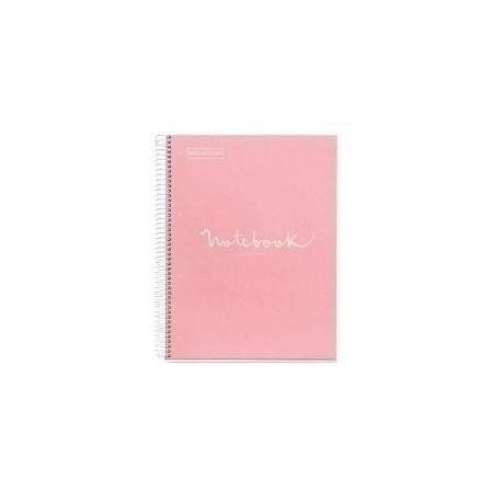 Bloc Miquelrius Emotions Notebook 5 Micro.Tapa Dura A5 120h 90g Horiz.7mm Rosa