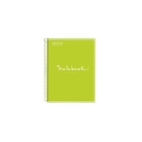 Bloc Miquelrius Emotions Notebook 5 Micro.Tapa Pp A5 120h 90g Horiz.7mm Lima