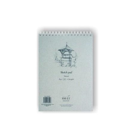 Bloc Para Bocetos Smiltainis Con Espiral Din A5 70 Hojas 100 Gr.