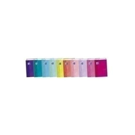 Block Oxford School Eu.Book 1 Touch Micro.Tapa Extra A4+ 80h Cuadric.5x5 90g Lavanda Pastel