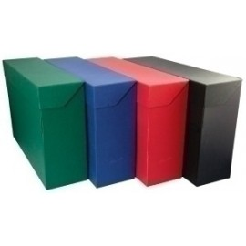 Caja De Transferencias Mariola Geltex A4 Sin Ollaos Negro