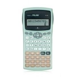 Calculadora Cientifica Milan 10+2 Digitos Silver (2 Líneas)