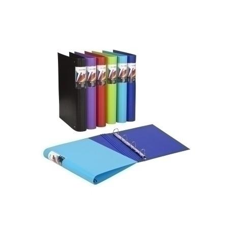 Carpeta De Anillas Carchivo Colormax Carton Forrado A4 4 An.Mixtas 40mm Negro
