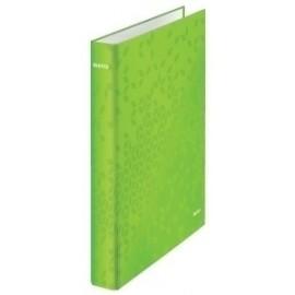 Carpeta De Anillas Leitz Wow A4 180º 2 An.Mixtas 25mm Verde