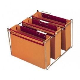 GIO Carpeta colgante Gio-Stock A4 Lomo 75 mm Varilla acero  Carton corrugado automontable 400021920