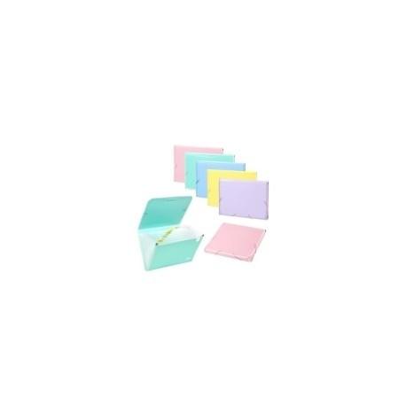 Clasificador Acordeon Carchivo Soft Pp Fº 13 Dptos.(A-Z) Colores Surtido Expositor De 10