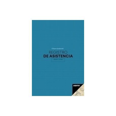 Cuaderno Profesor Additio Registro De Asistencia 195x285 Surtido