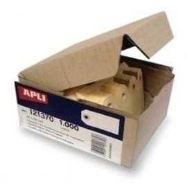 Etiquetas Manuales Colgantes Con Arandela Apli 38x80 Mm Caja 1.000 Uds.(121372)
